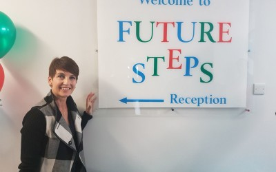 Press release from: Future Steps with Anna Kennedy OBE