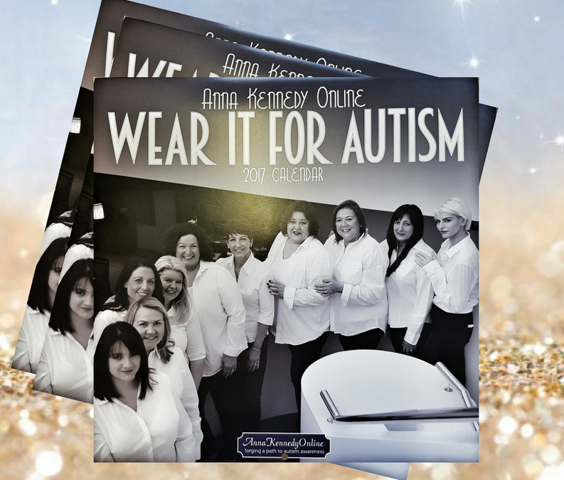 Wear it for Autism Calender is here!