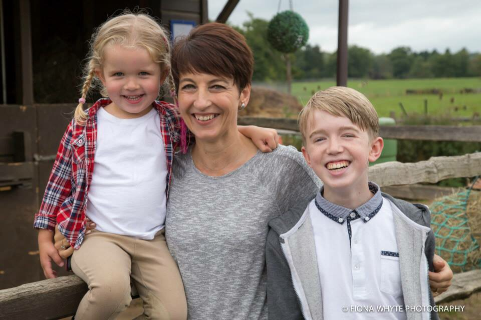 Anna with Ryan and Lucy