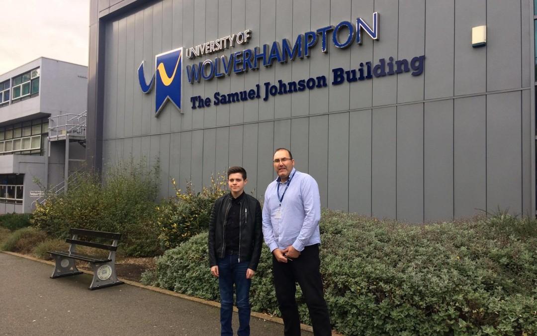 AGT star Bradley Turner speaks at University of Wolverhampton