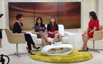 Anna Kennedy, Mala Thapar and Marie Gorton on The Chrissy B show – Christmas Day