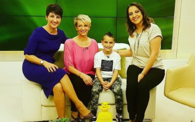 Anna Kennedy, Maggie Paterson and Callum Kirrage on The Chrissy B show