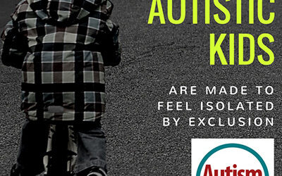 Survey Says Autistic Kids are Made to Feel Isolated by Exclusion