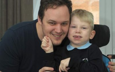 Radio host signs up for sky dive to help buy disabled Basildon boy an electric wheelchair