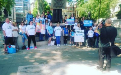 Anna Kennedy's powerful speech – supporting PDA during peaceful protest on 15th May in Westminister