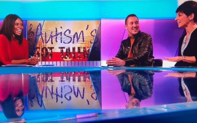 Channel 5 News interview Anna Kennedy and Cal Ruddy about Autism's Got Talent!
