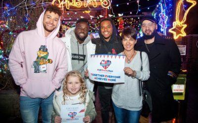 X-Factor winners Rak-Su give a #UKCharityWeek message of support
